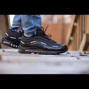 """info for 633f9 476cd Nike Shoes - Custom Air Max 97 """"Undefeated"""" size 11"""